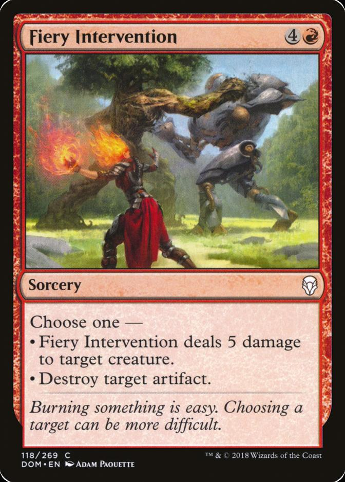 Fiery Intervention [DOM]