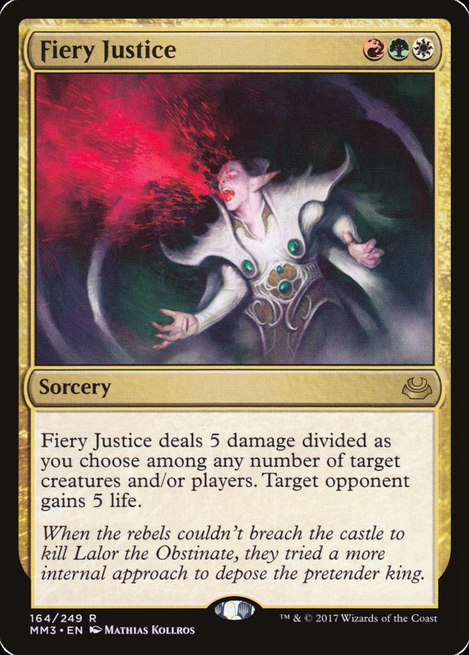 Fiery Justice [MM3]