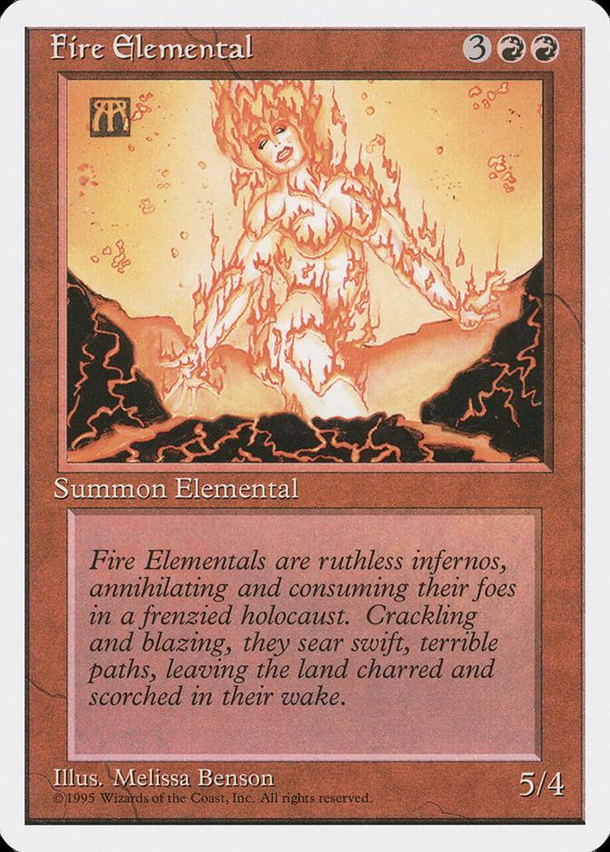 Fire Elemental [4ED]