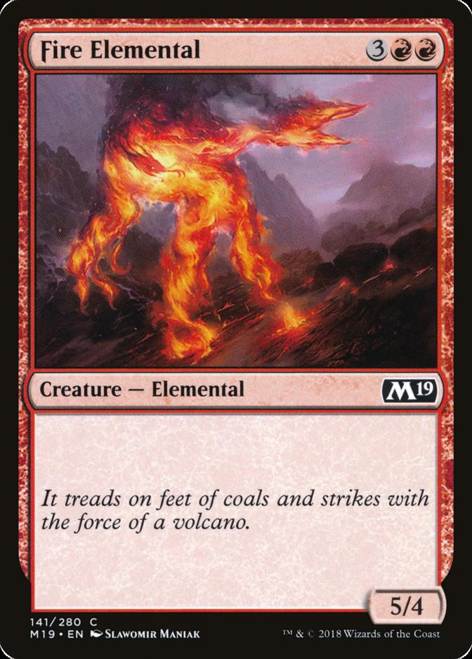 Fire Elemental [M19] (F)