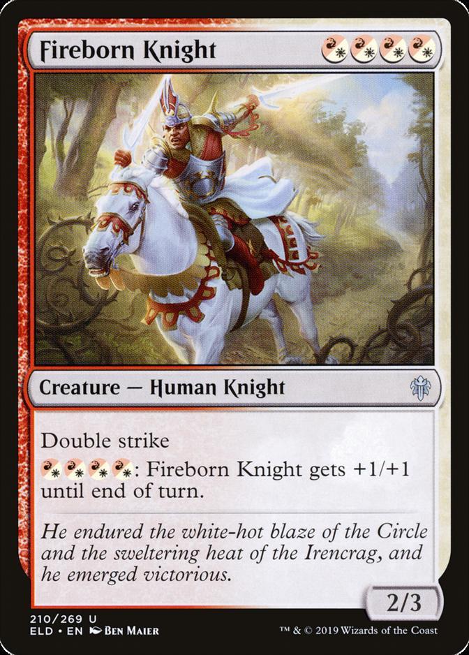 Fireborn Knight [ELD]