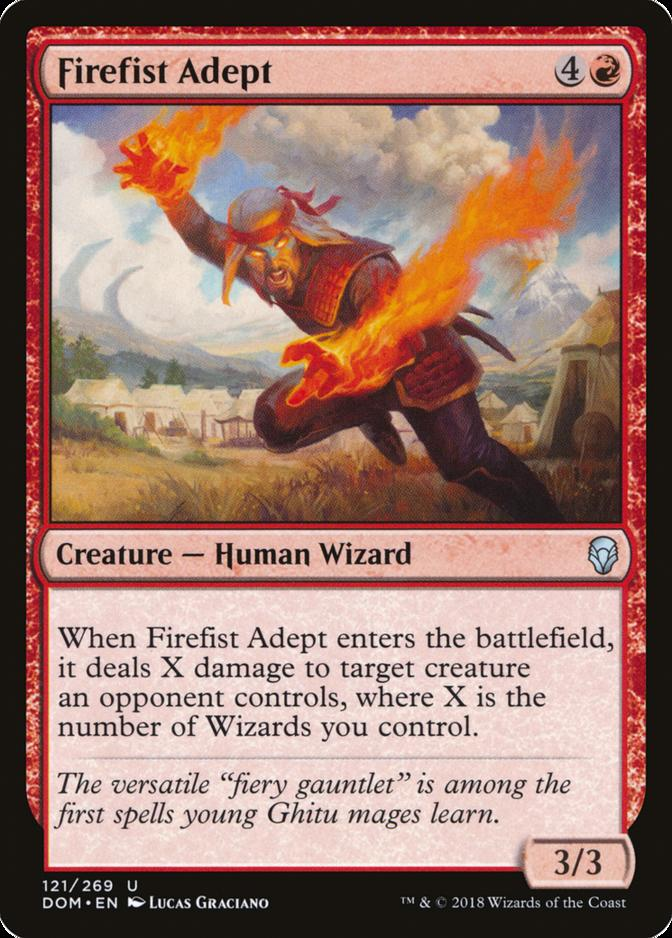 Firefist Adept [DOM]