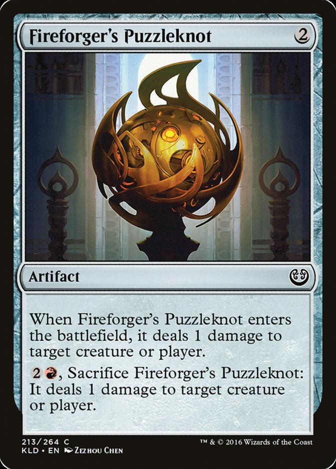 Fireforger's Puzzleknot [KLD]