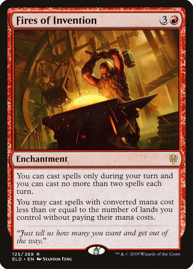 Fires of Invention [ELD]