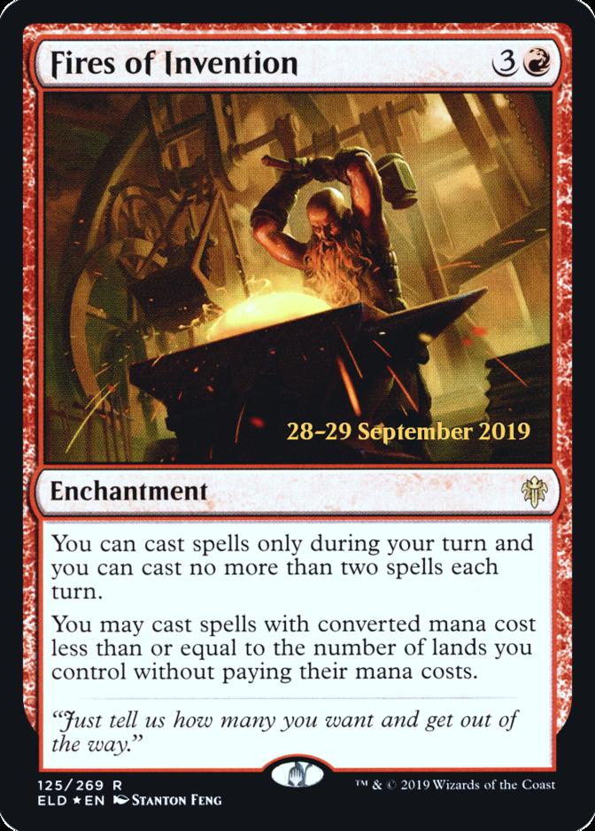 Fires of Invention [PRM-PRE] (F)
