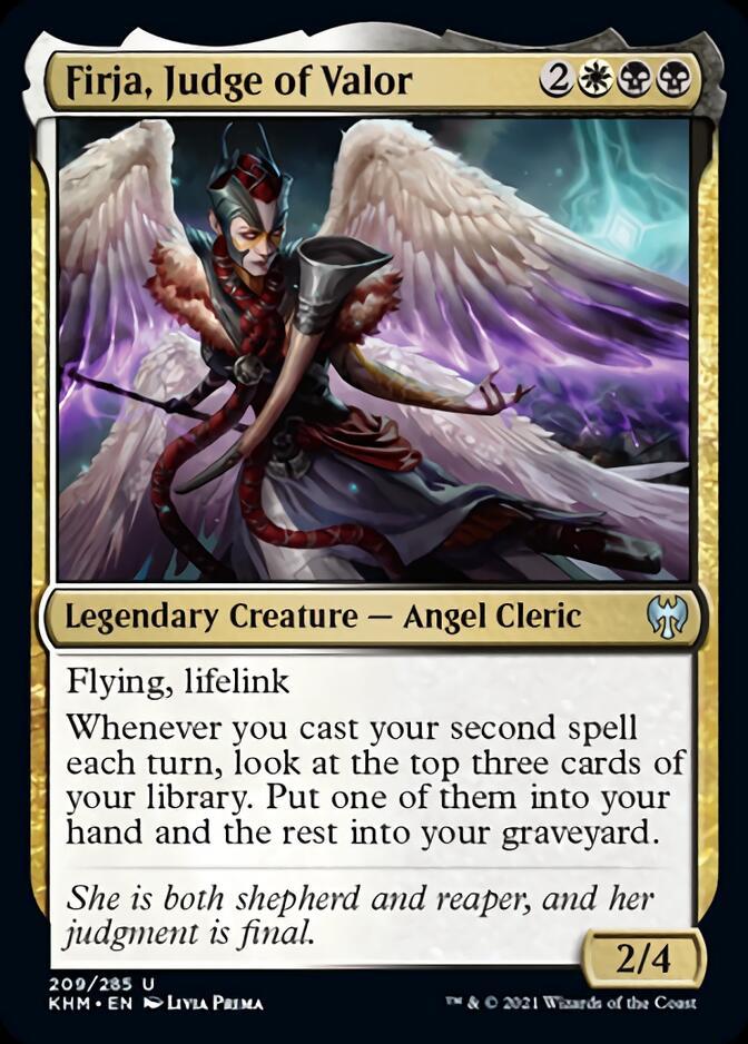 Firja, Judge of Valor [KHM]