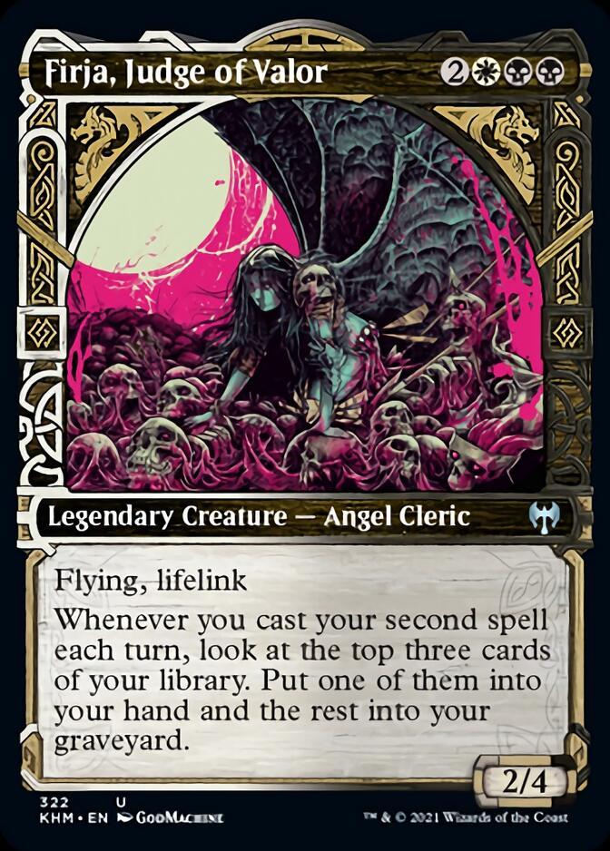 Firja, Judge of Valor <showcase> [KHM]