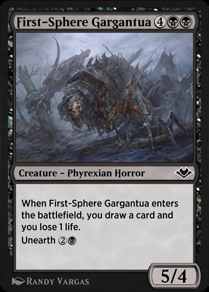 First-Sphere Gargantua [J21]