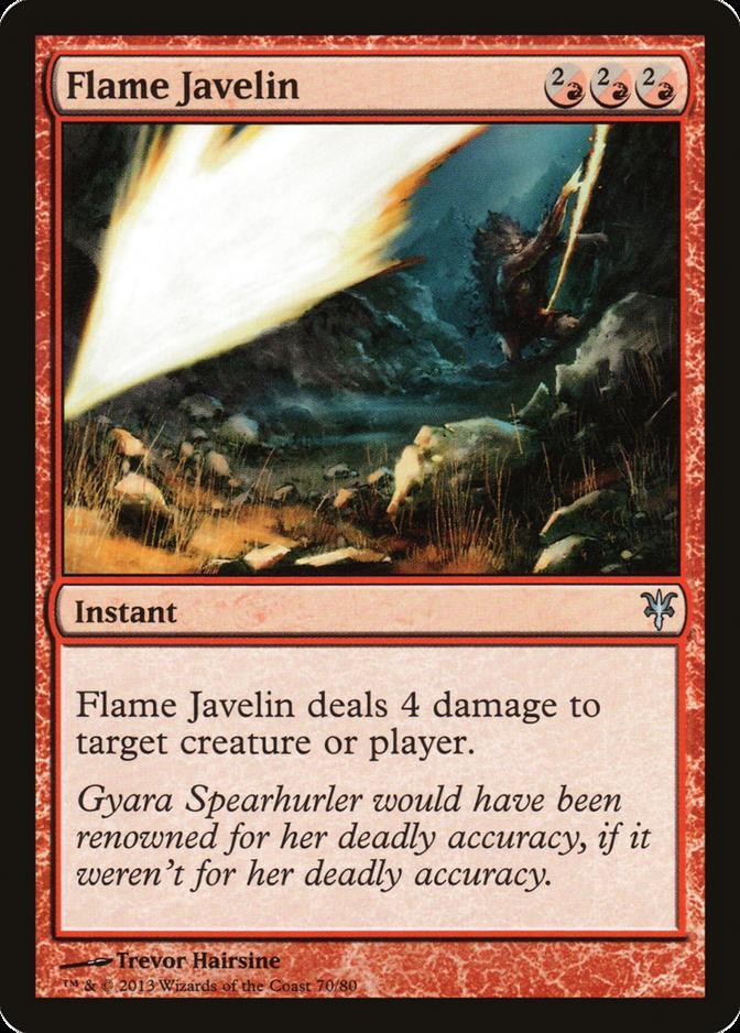 Flame Javelin [DDK]
