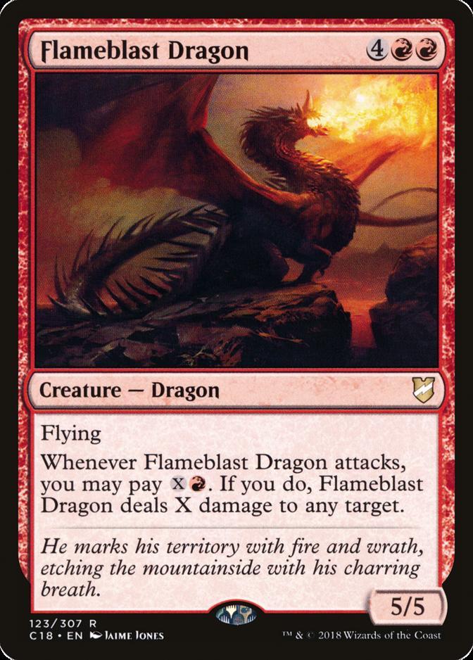 Flameblast Dragon [C18]