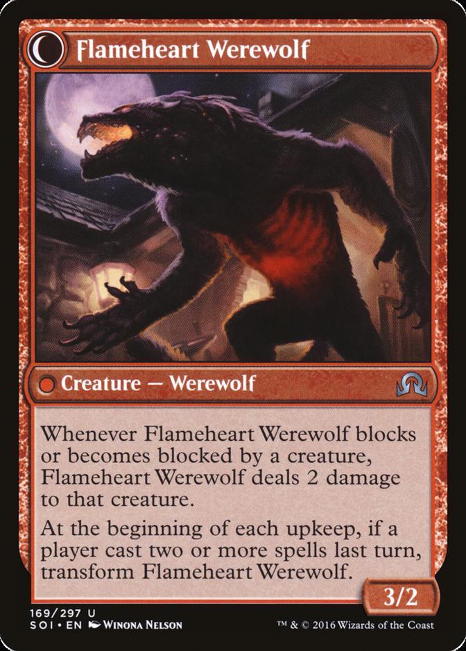 Flameheart Werewolf [SOI]