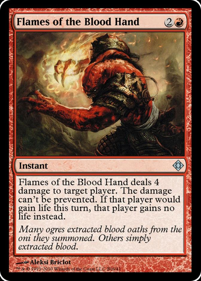 Flames of the Blood Hand [TD0]