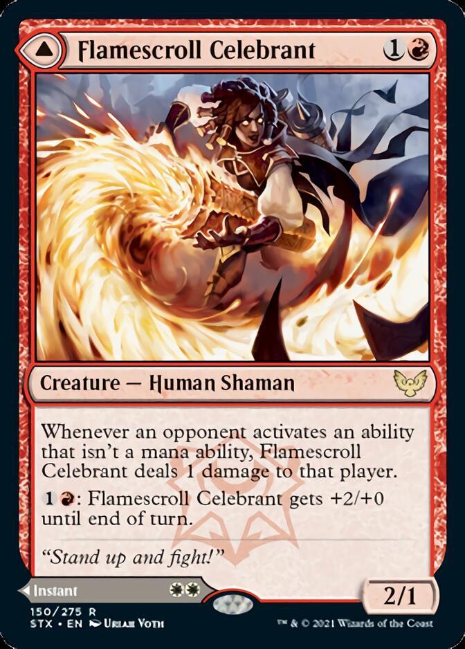 Flamescroll Celebrant [STX]