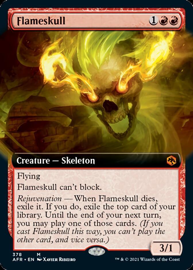 Flameskull <extended> [AFR]