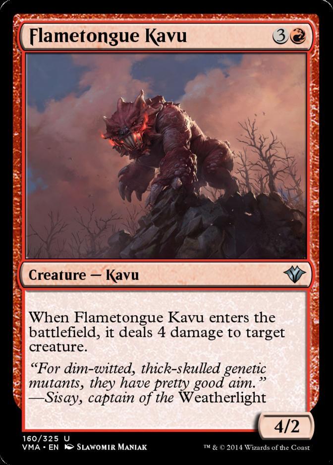 Flametongue Kavu [VMA] (F)