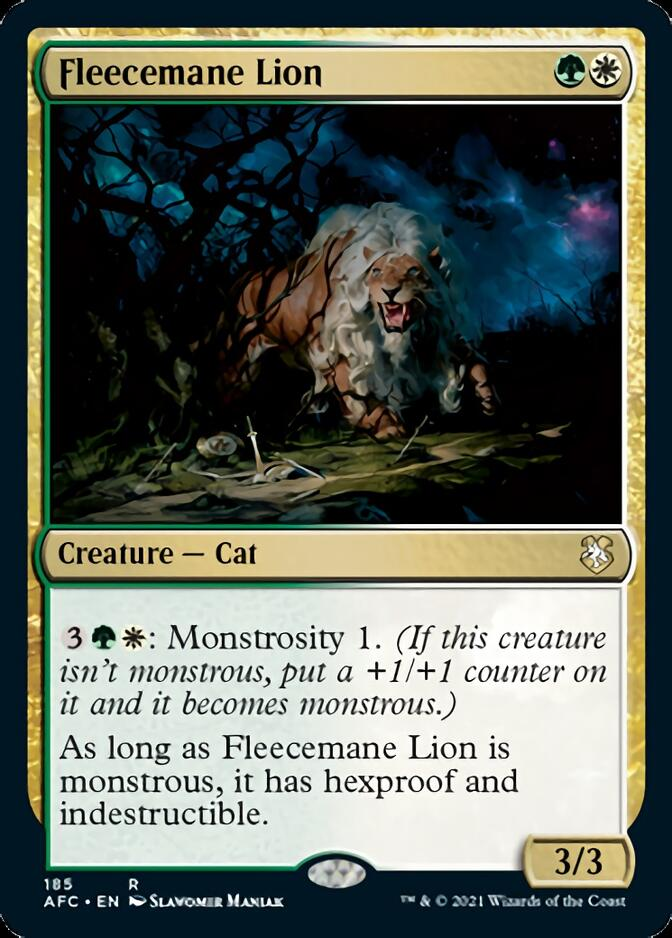 Fleecemane Lion [AFC]