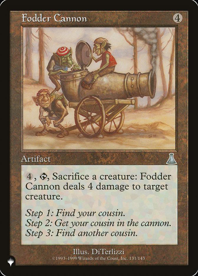 fodder cannon the list plist price history