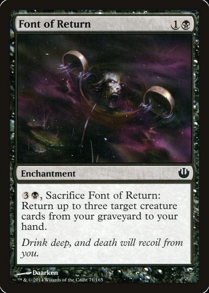 Font of Return [JOU] (F)