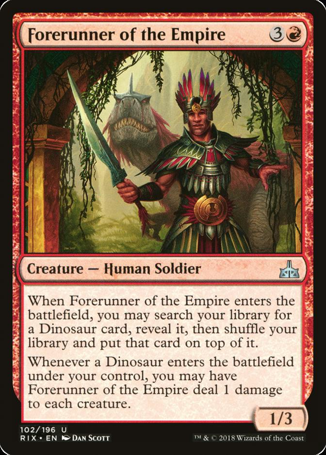 Forerunner of the Empire [RIX]