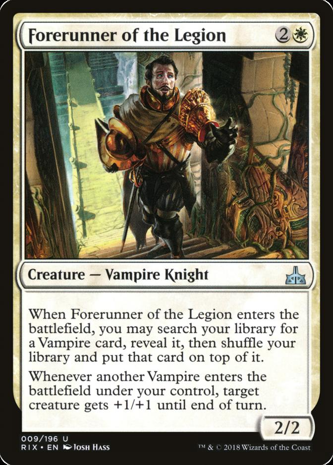 Forerunner of the Legion [RIX]