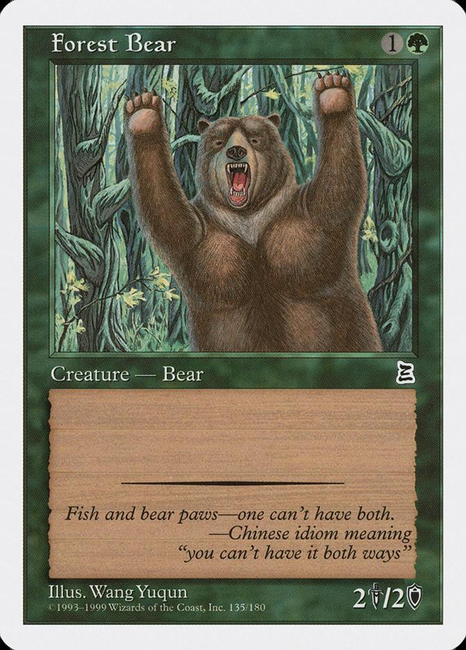 Forest Bear [PTK]