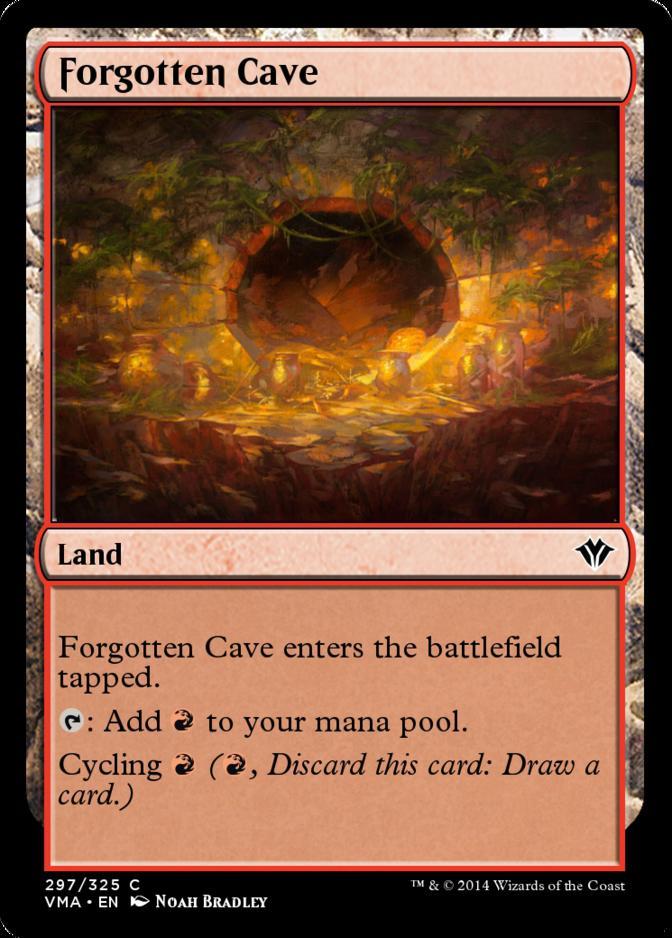 Forgotten Cave [VMA] (F)
