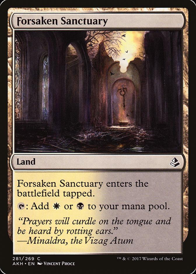 Forsaken Sanctuary [AKH] (F)