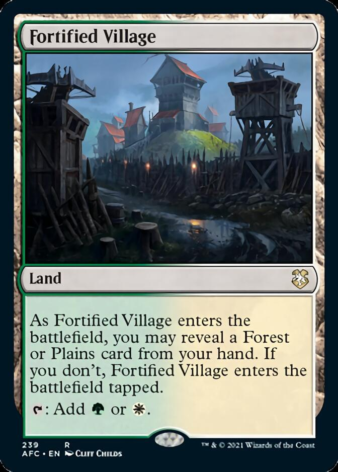 Fortified Village [AFC]