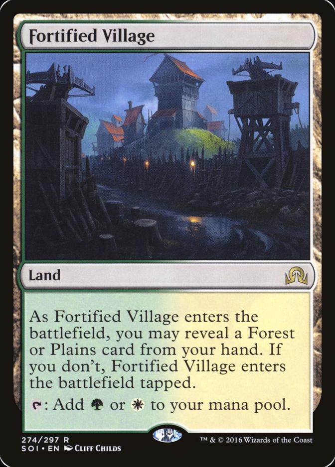 Fortified Village [SOI]