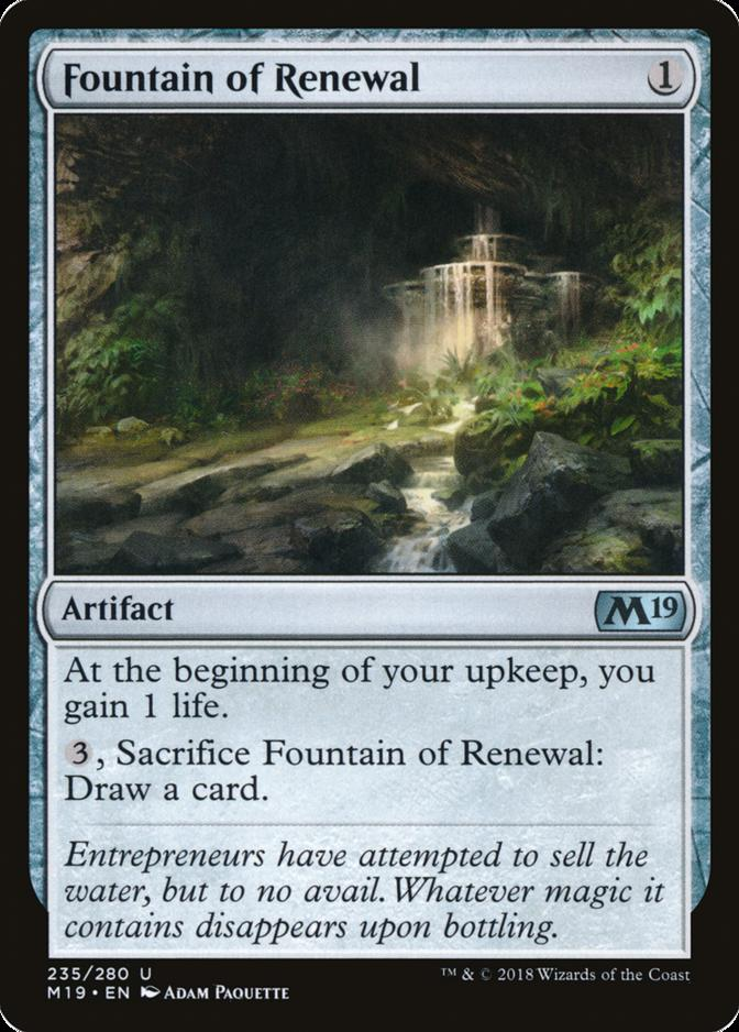 Fountain of Renewal [M19]