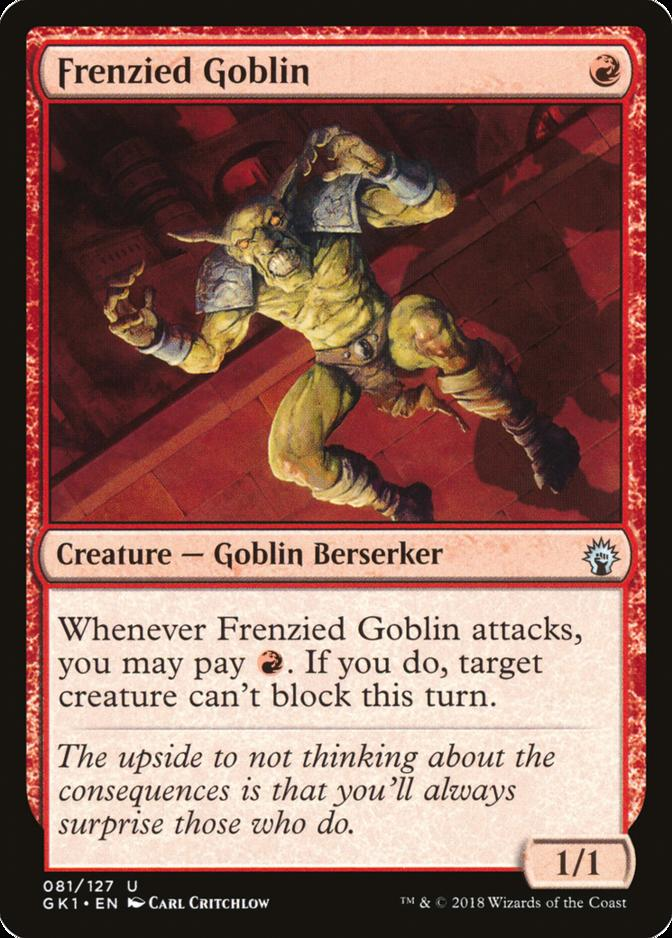 Frenzied Goblin [GK1]