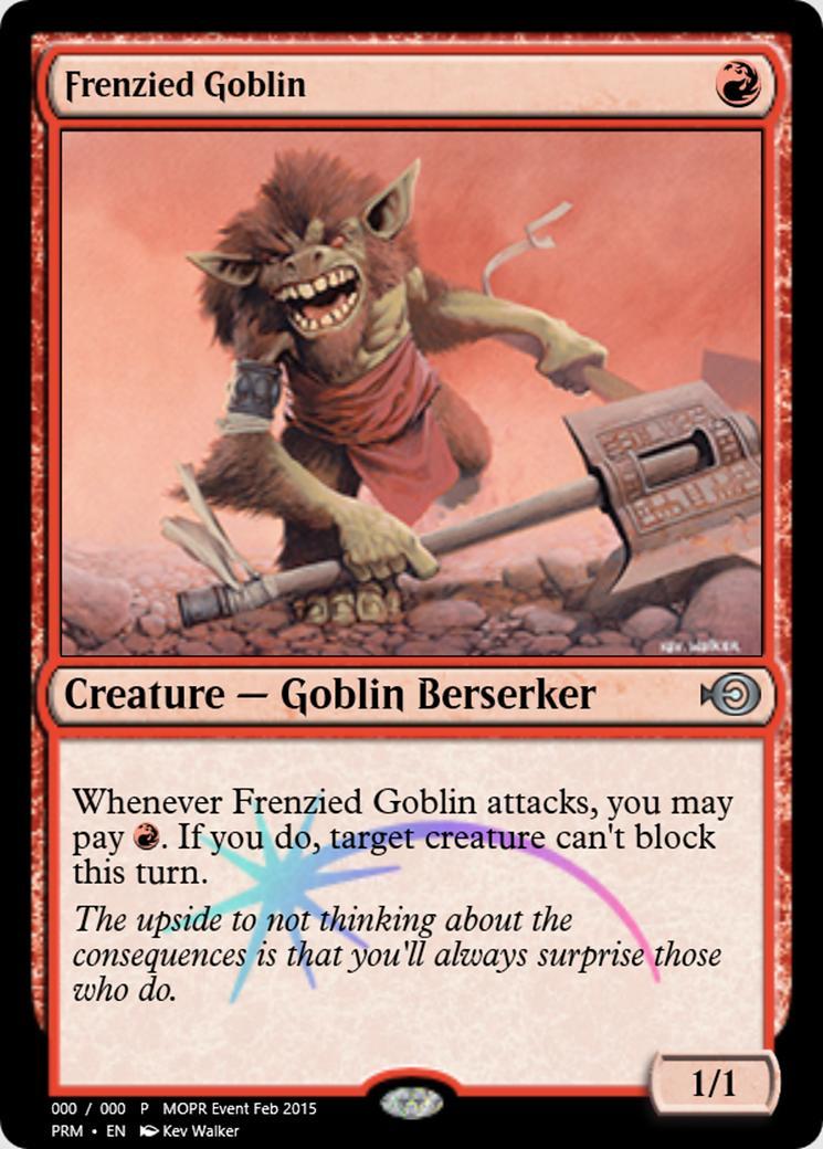 Frenzied Goblin [PRM]