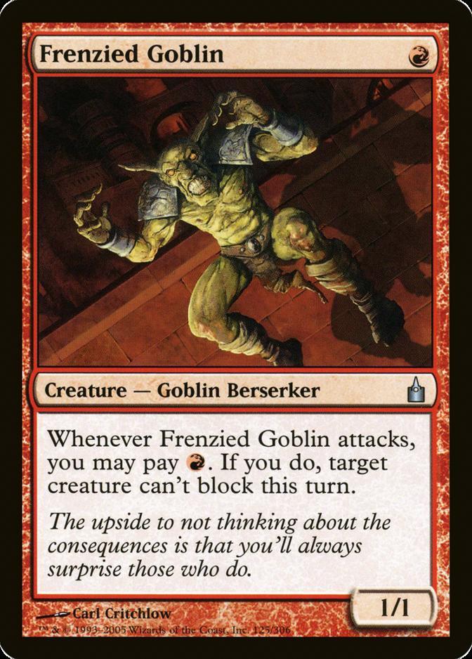 Frenzied Goblin [RAV]