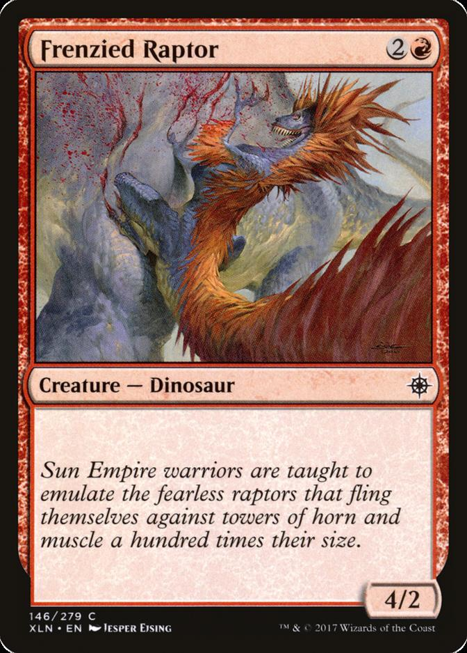 Frenzied Raptor [XLN]