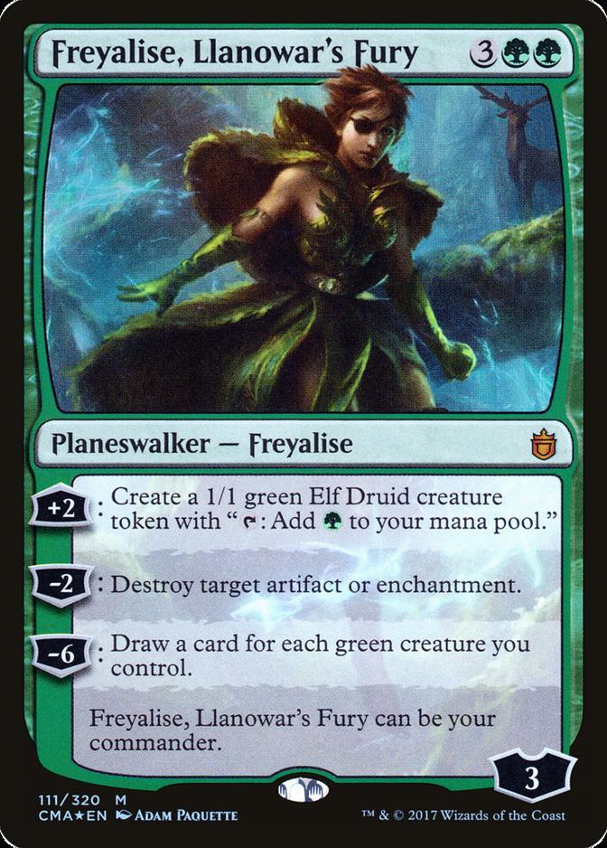 Freyalise, Llanowar's Fury [CMA] (F)