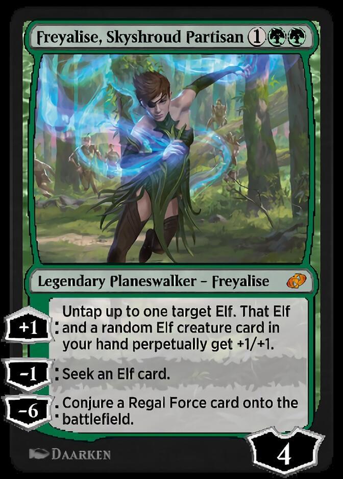 Freyalise, Skyshroud Partisan [J21]