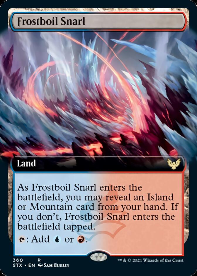 Frostboil Snarl <extended> [STX]
