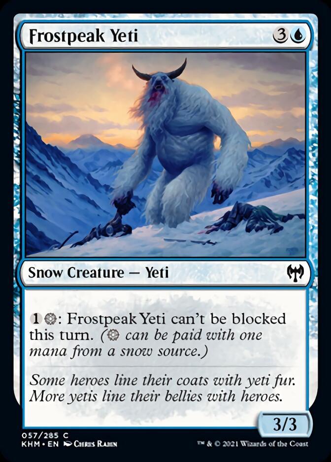 Frostpeak Yeti [KHM]