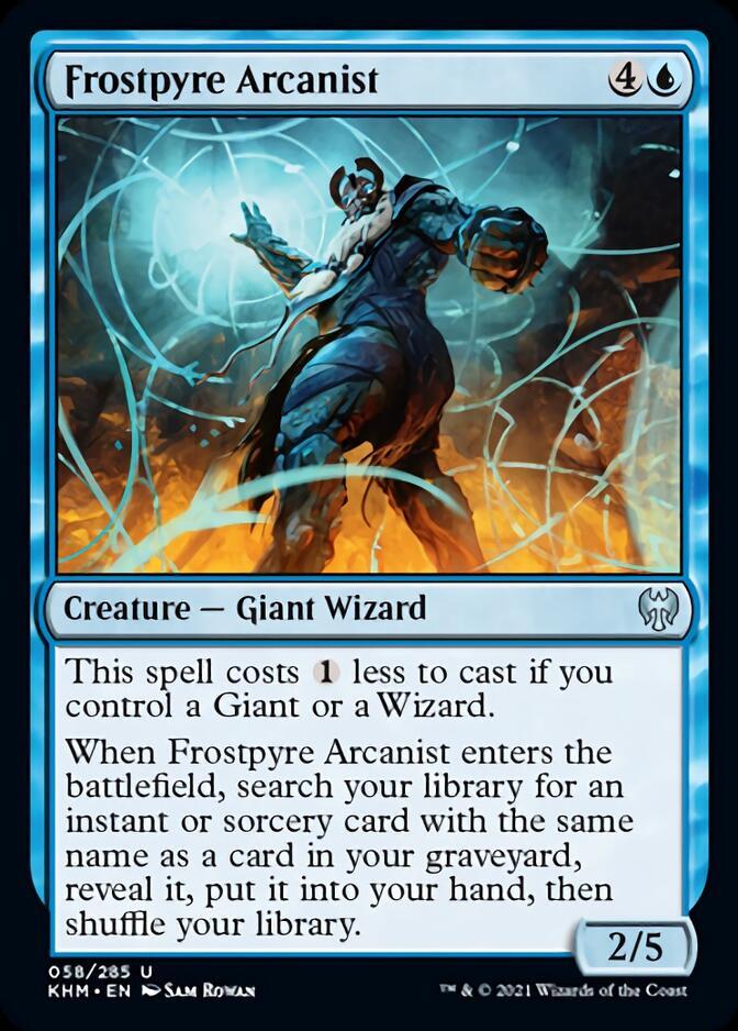 Frostpyre Arcanist [KHM]