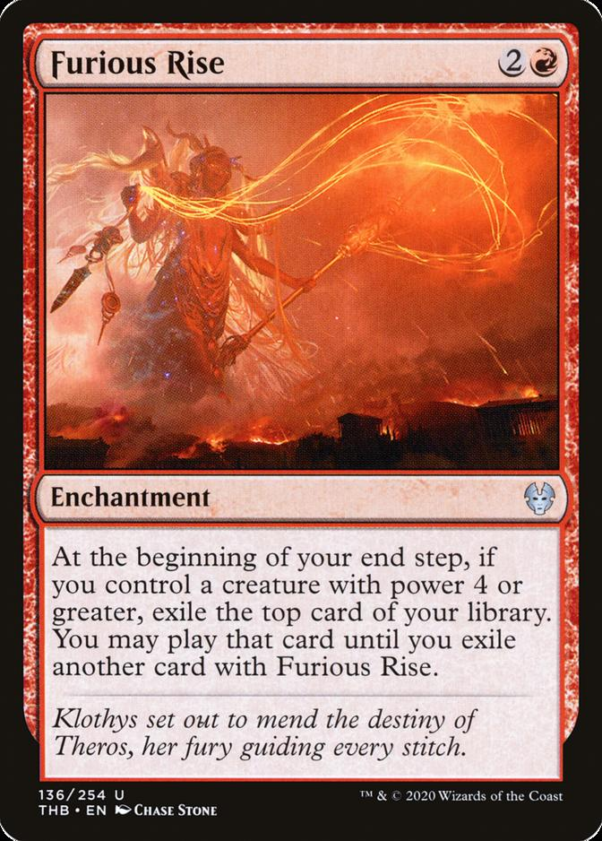 4 Furious Rise Theros Beyond Death