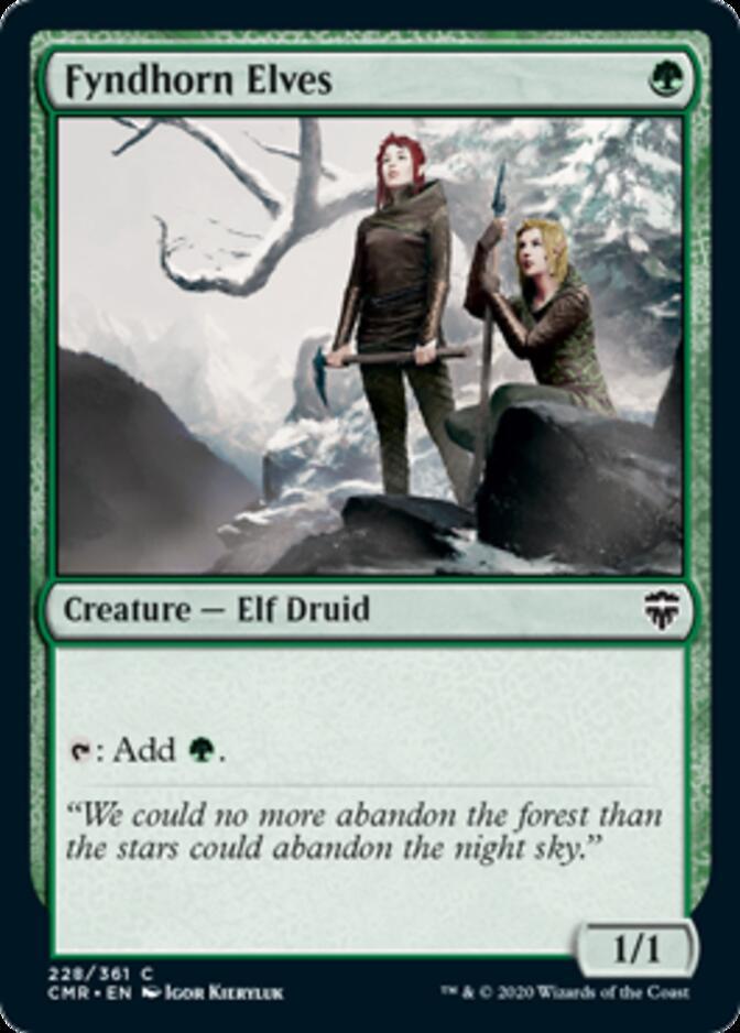 Fyndhorn Elves [CMR]