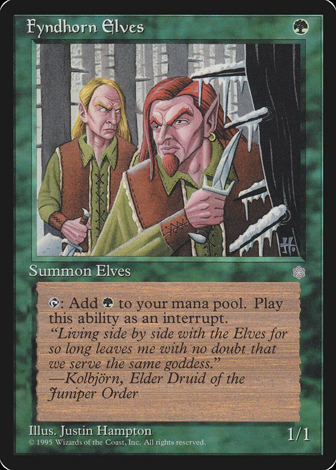 Fyndhorn Elves [ICE]