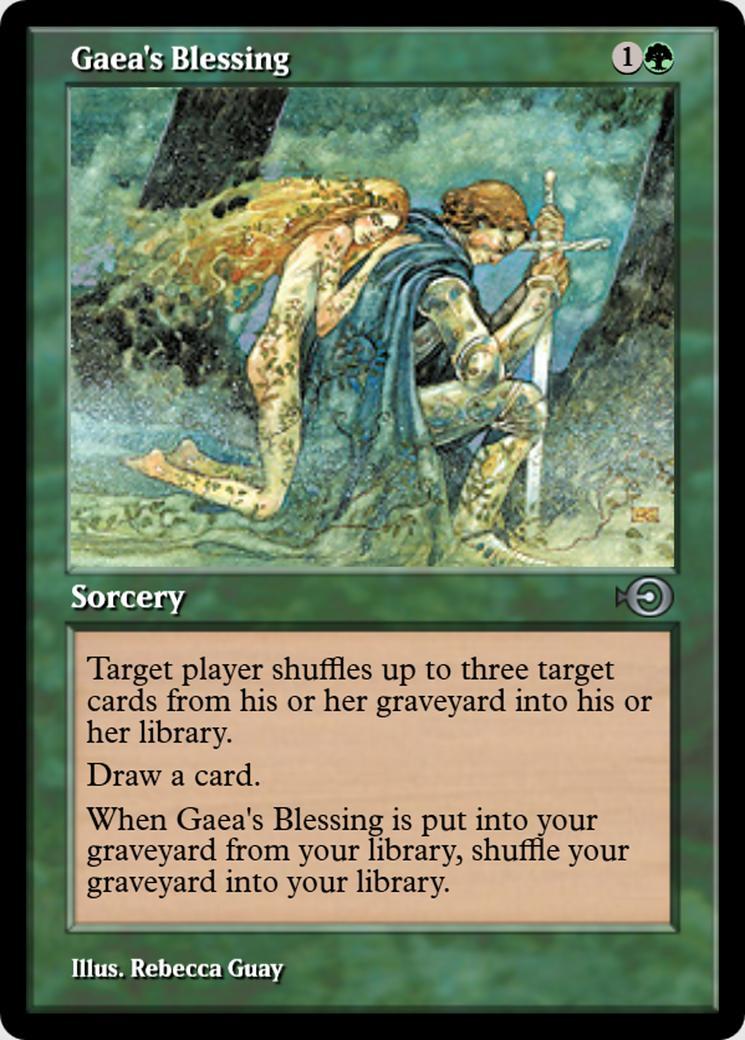 Gaea's Blessing [PRM] (F)