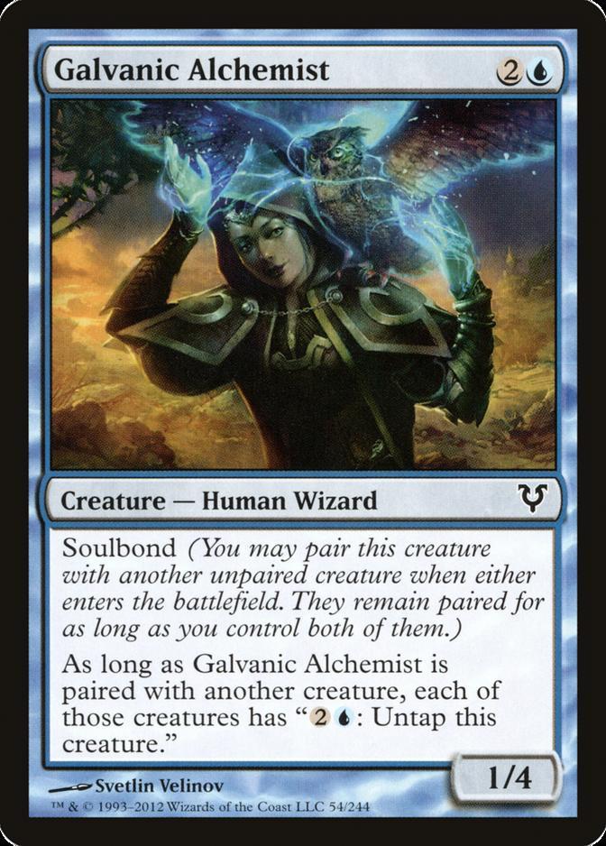 Galvanic Alchemist [AVR] (F)