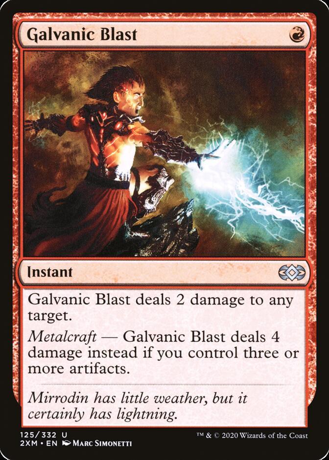 Galvanic Blast [2XM]