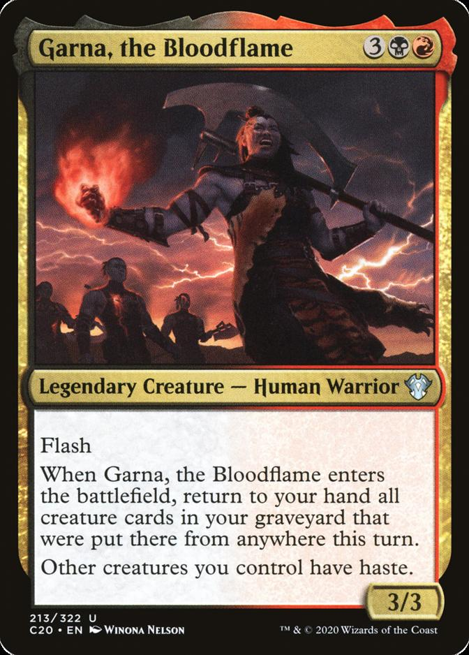 Garna, the Bloodflame [C20]