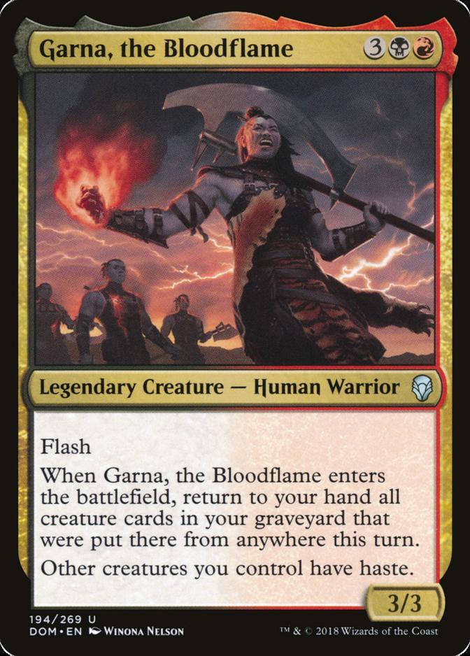 Garna, the Bloodflame [DOM]