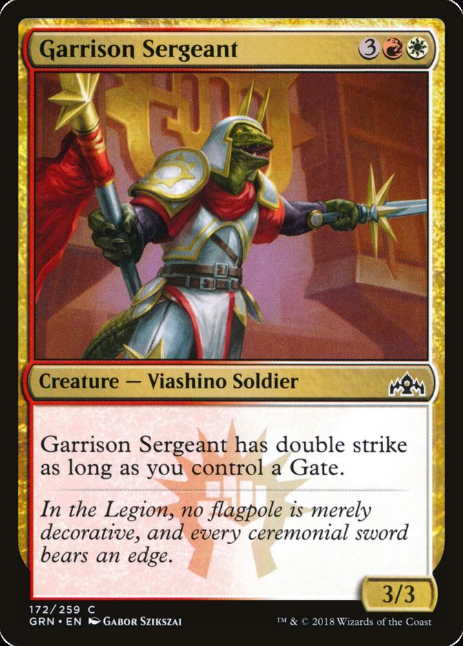 Garrison Sergeant [GRN]