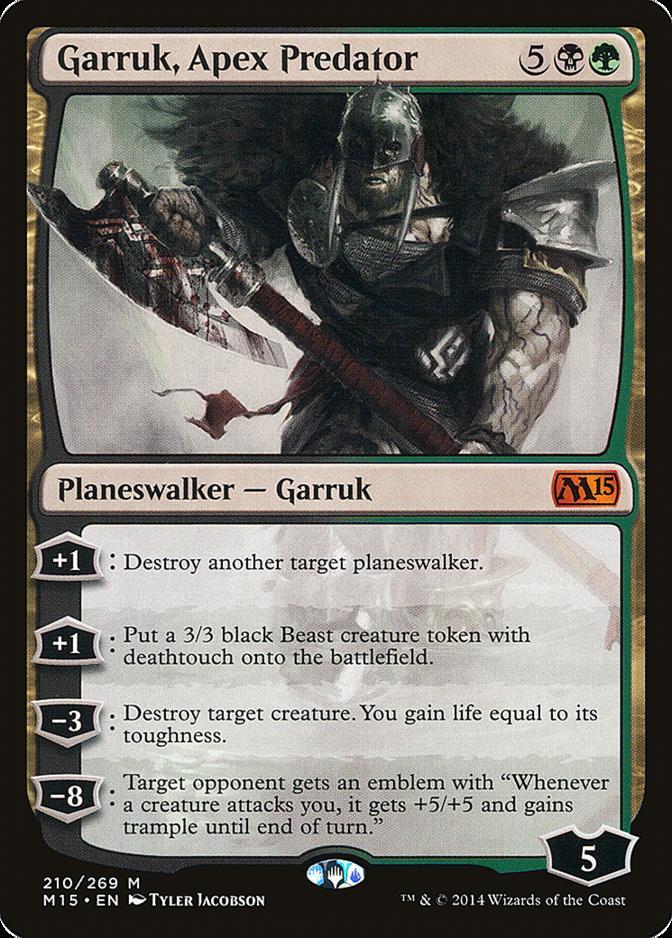 Garruk, Apex Predator [M15] (F)