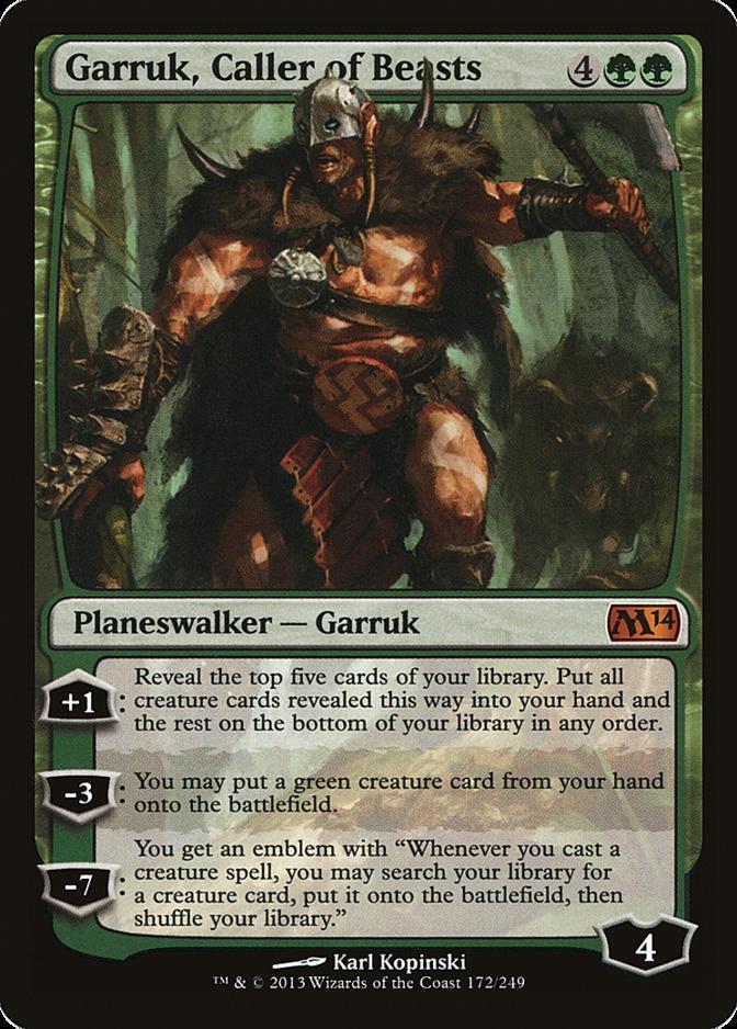 Garruk, Caller of Beasts [M14]